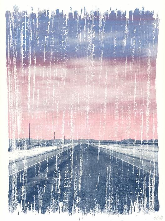 Image of ARTCRANK POSTER : OPEN ROAD