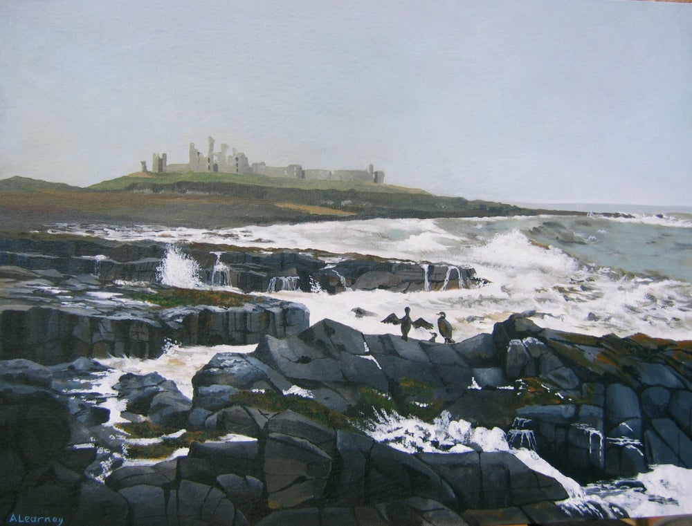 Image of Dunstanburgh Castle, Northumberland, Print