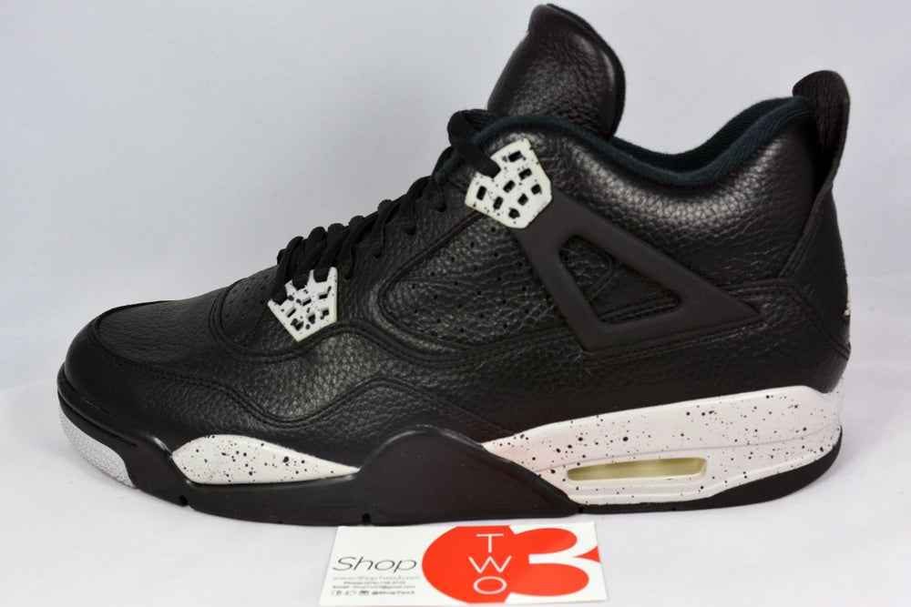 Image of Air Jordan 4 Retro LS Oreos