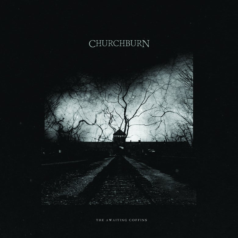"Image of CHURCHBURN ""The Awaiting Coffins"" LP"