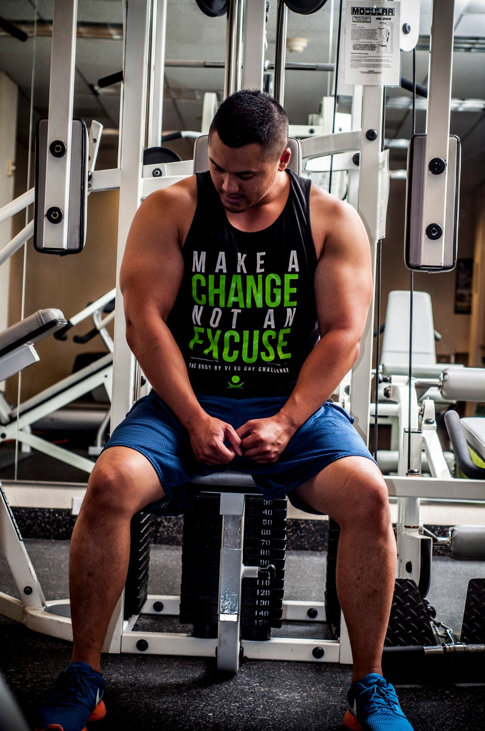 "Image of BBV Tank - ""Make a Change, Not an Excuse"""