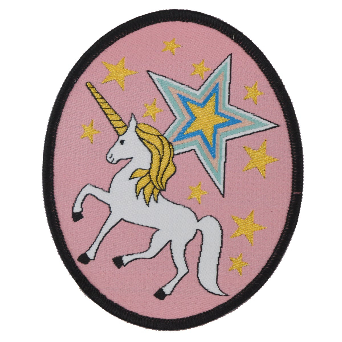 Unicorn Stars Iron on Patch