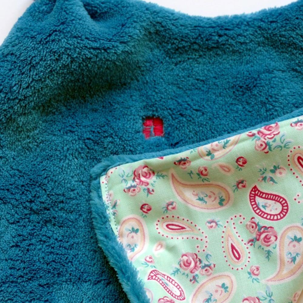 Image of Doudou Bonbon rose/turquoise