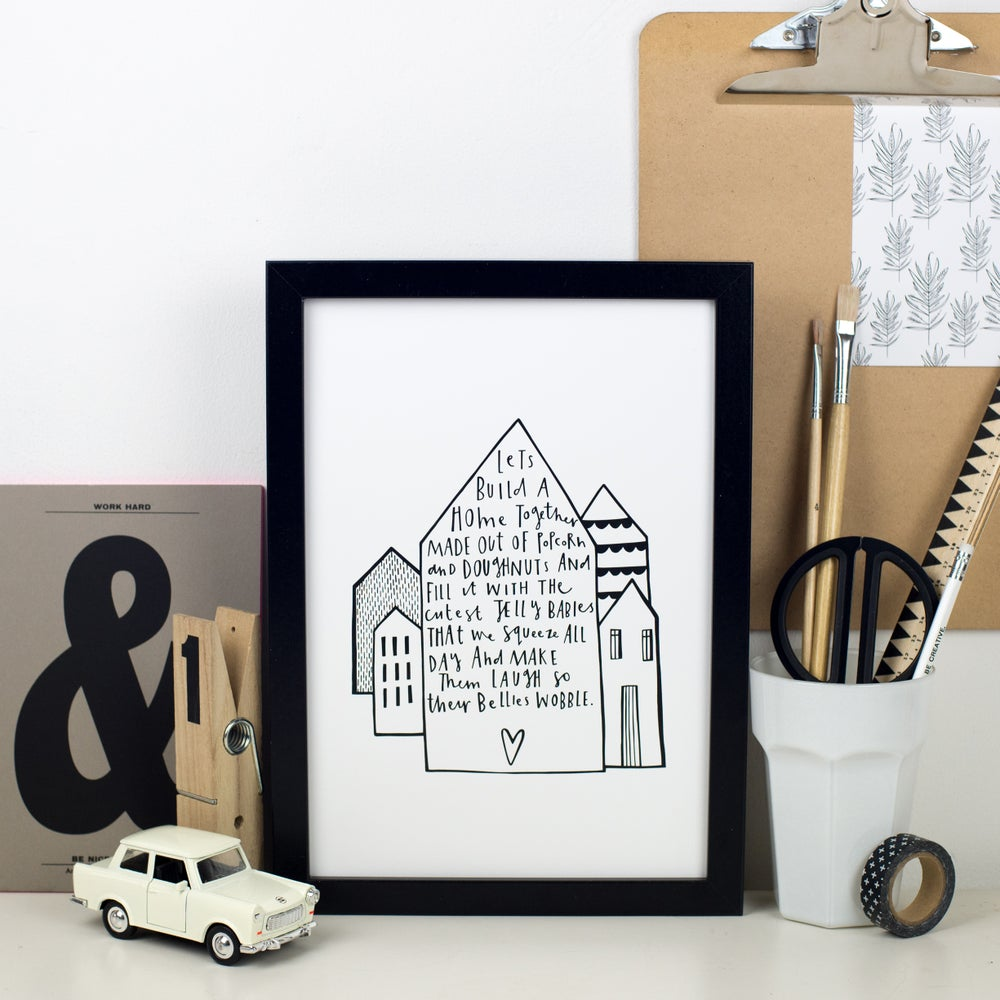 Image of Jelly House print