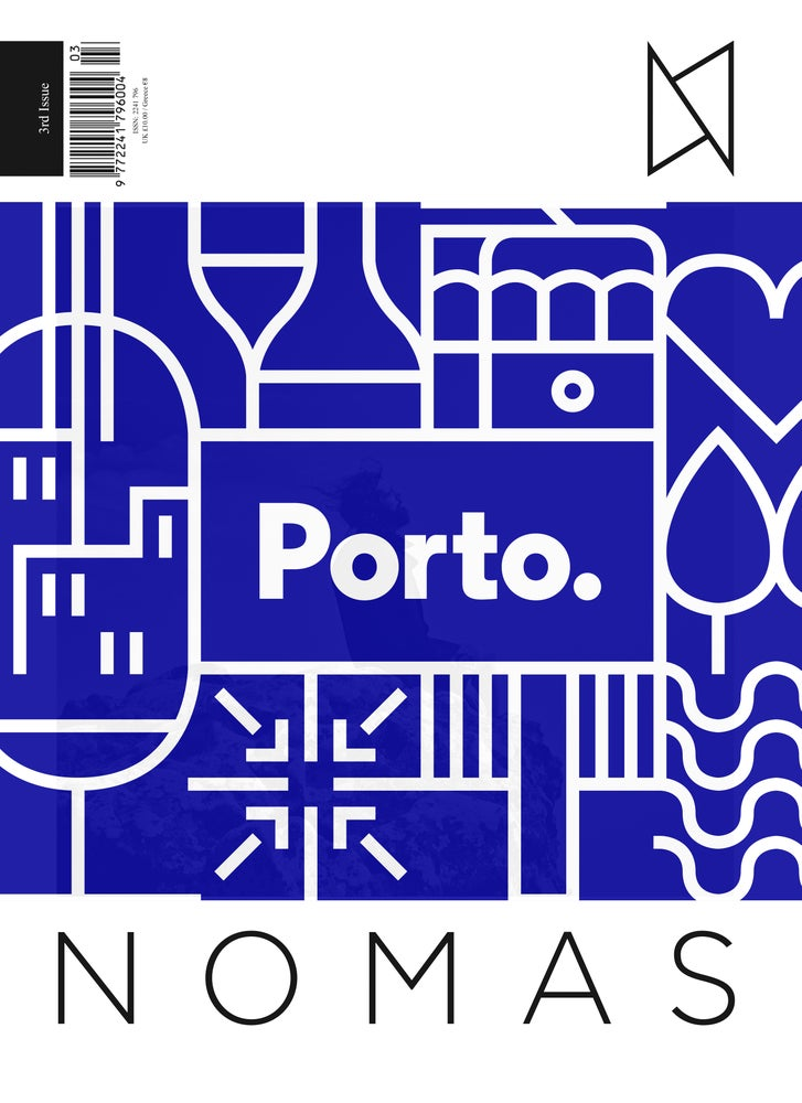 Image of PORTO - The Limited Edition Blue Cover Jacket is sold out.