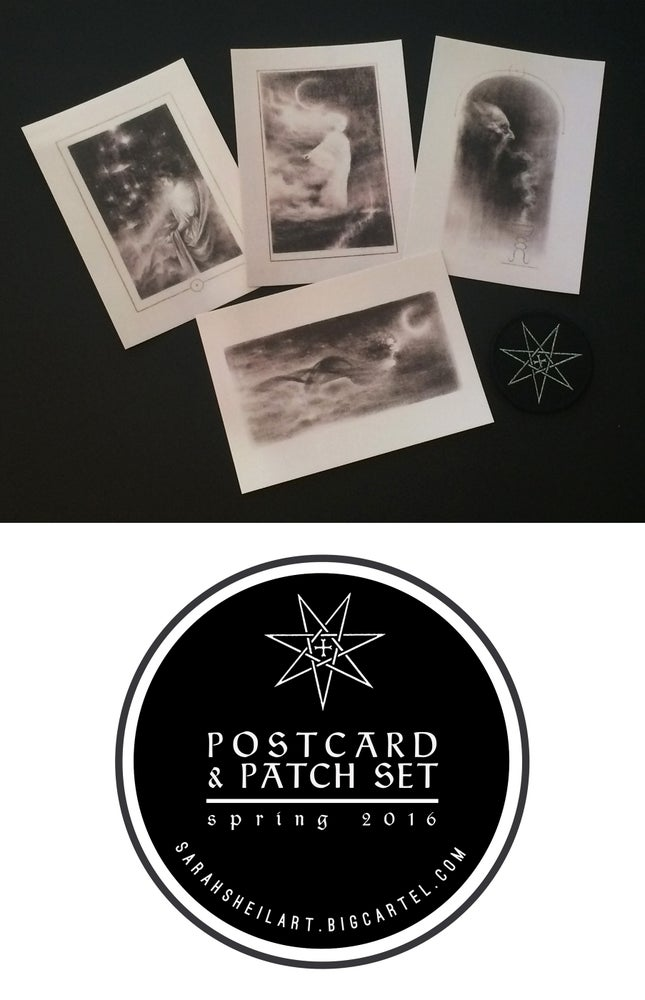 Image of Postcard & Patch Set : Spring 2016
