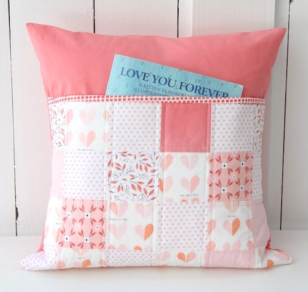 Peachy Keen Pillow Beech Tree Lane Handmade