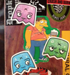 Ghost Stickers - Series 1