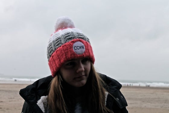 Image of Fistral Beanie | Pink & Blue