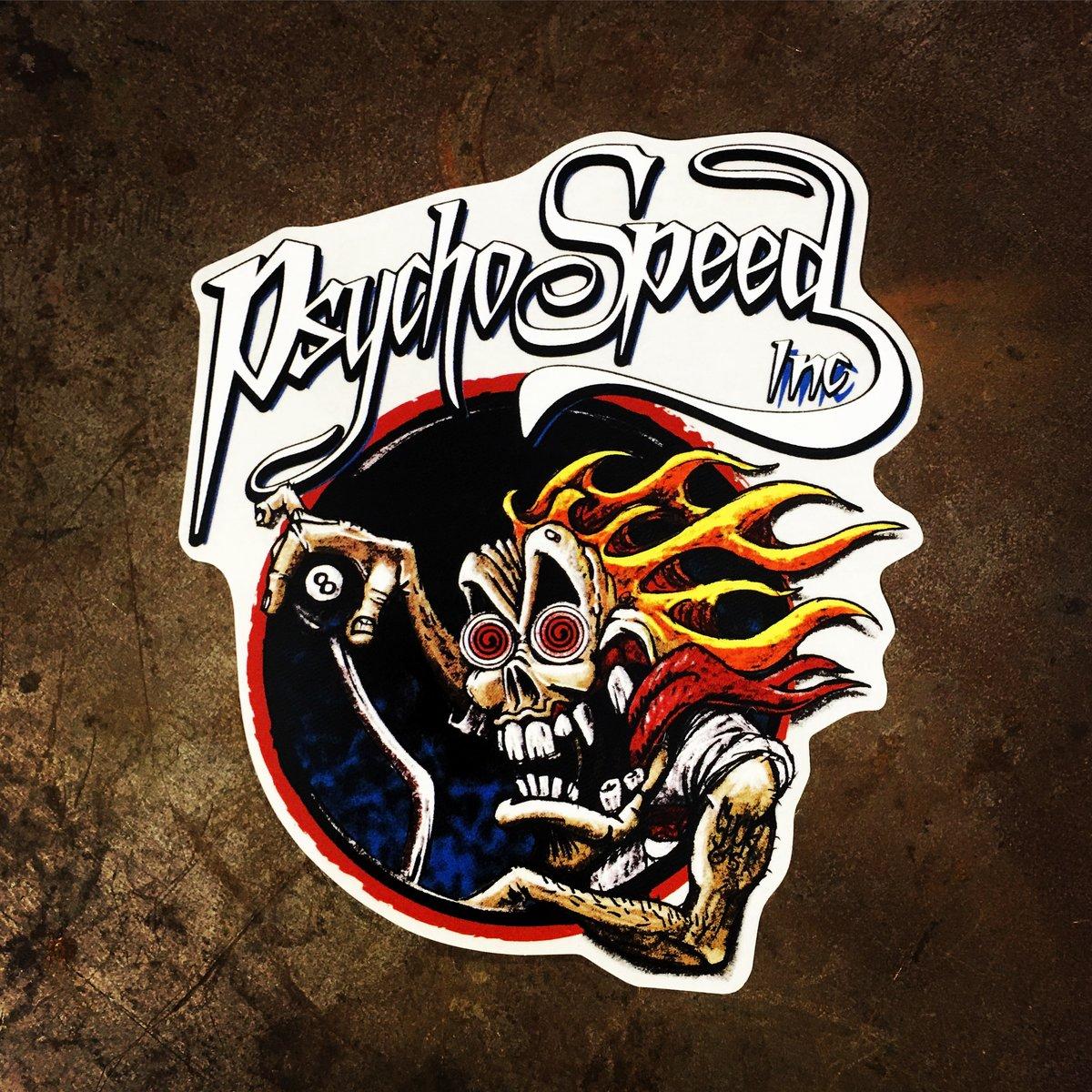Image of Psycho Speed OG Sticker