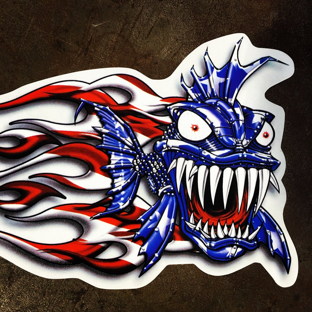 Image of Americana Sticker