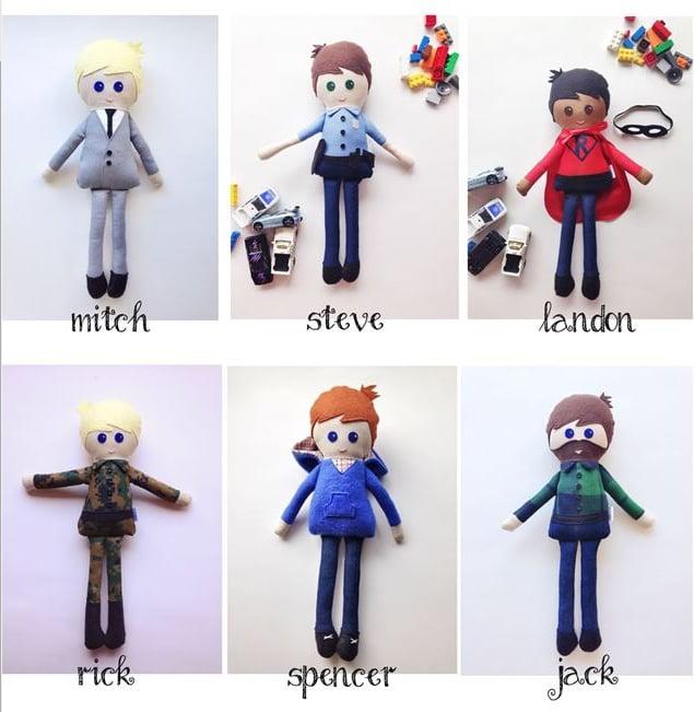 Image of Boy Dolls
