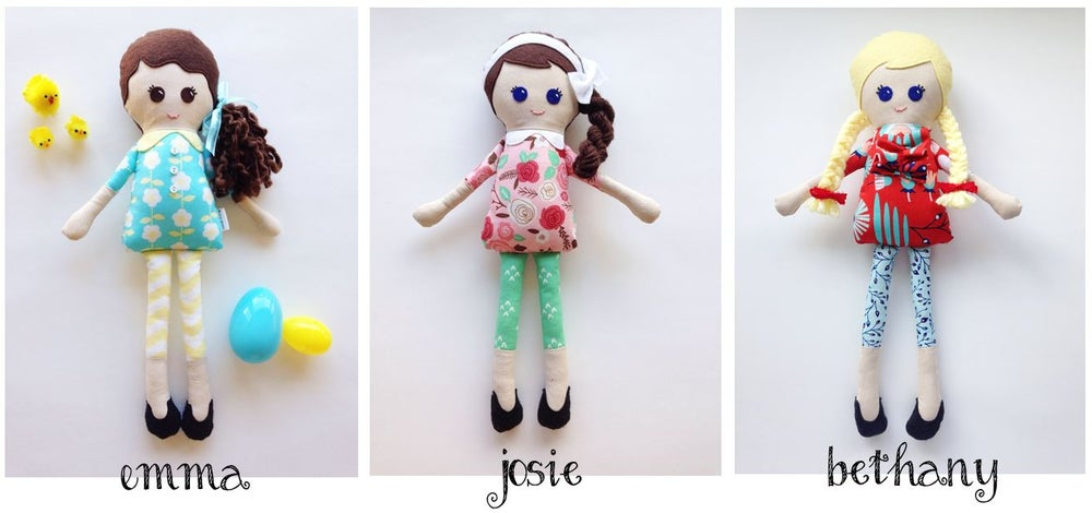 Image of Girl Dolls with Leggings