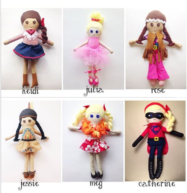 Image of Themed Girl Dolls