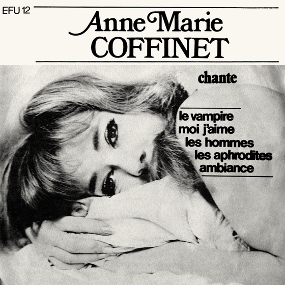 Image of ANNE-MARIE COFFINET - LE VAMPIRE (FFL017/EFU12 - Clear) - RECORD STORE DAY 2016 EXCLUSIVE