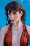 Oh Julia de Burgos Pearls Necklace
