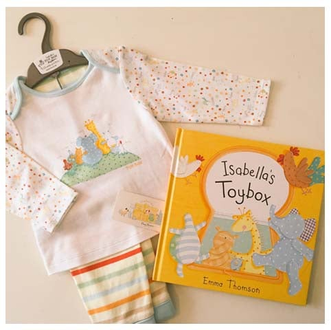 Image of Official Isabella's Toy Box Merchandise - Book & Pyjamas (New)