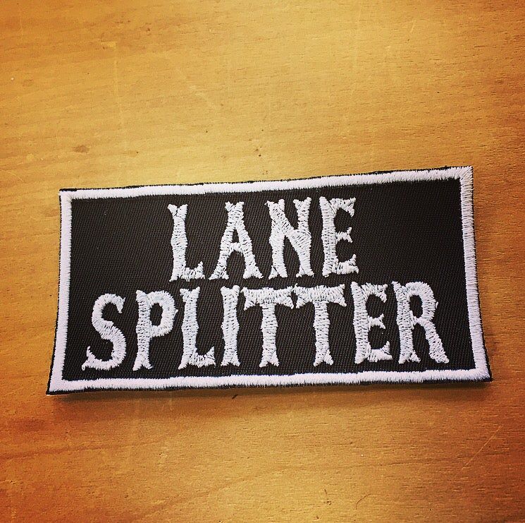 Image of Lane Splitter patch