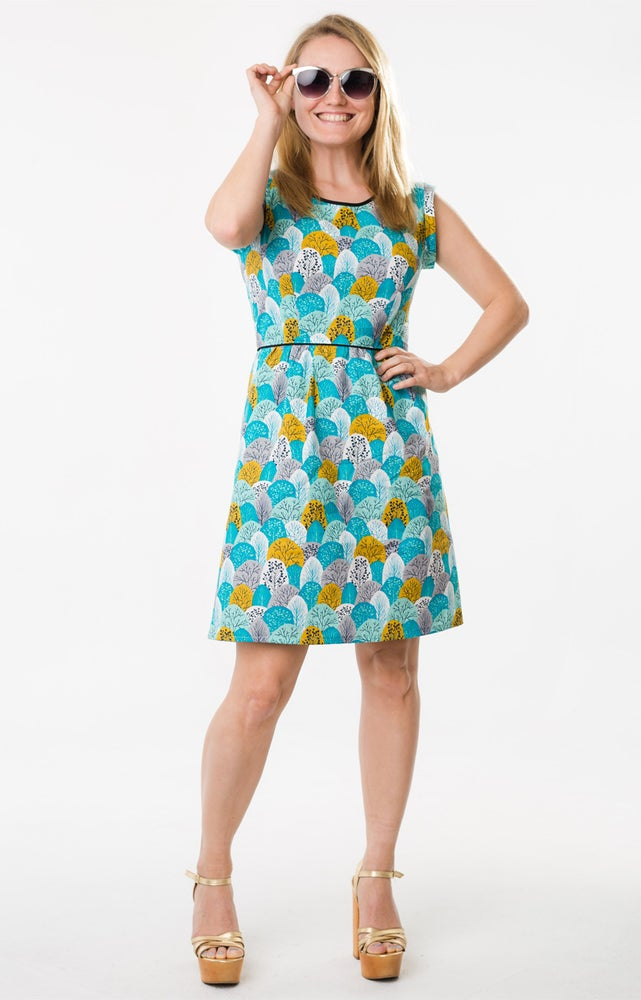 Image of ROXY DRESS: Woodland Spring