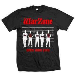 "Image of WARZONE ""Open Your Eyes"" T-Shirt"