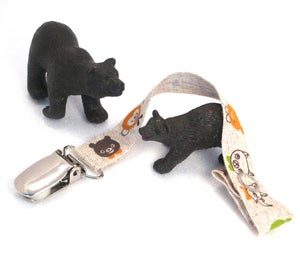 Image of Day at Zoo Pacifier Clip