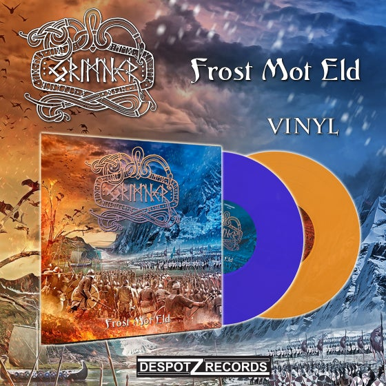 Image of Grimner - Frost Mot Eld (Orange LP/Blue LP)
