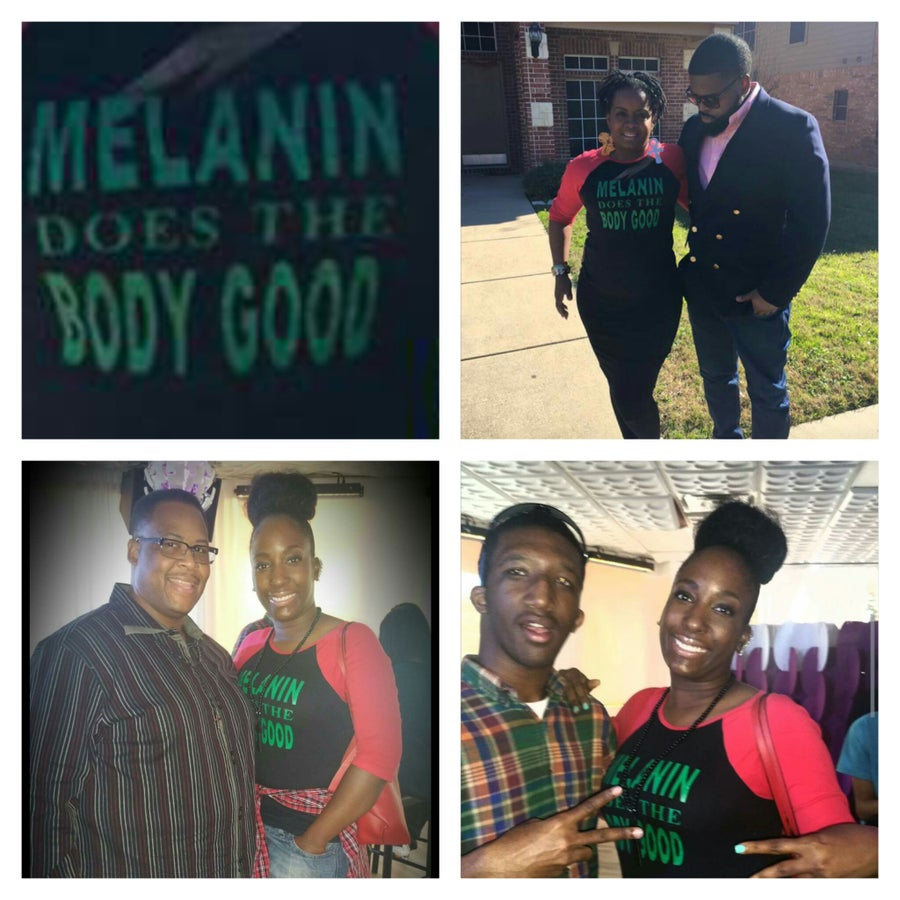 Image of MELANIN DOES THE BODY GOOD TSHIRT