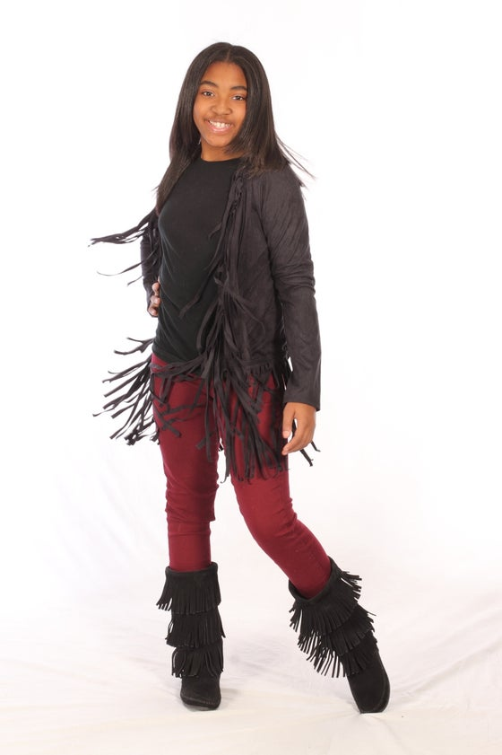 Image of Fringe Cardigan