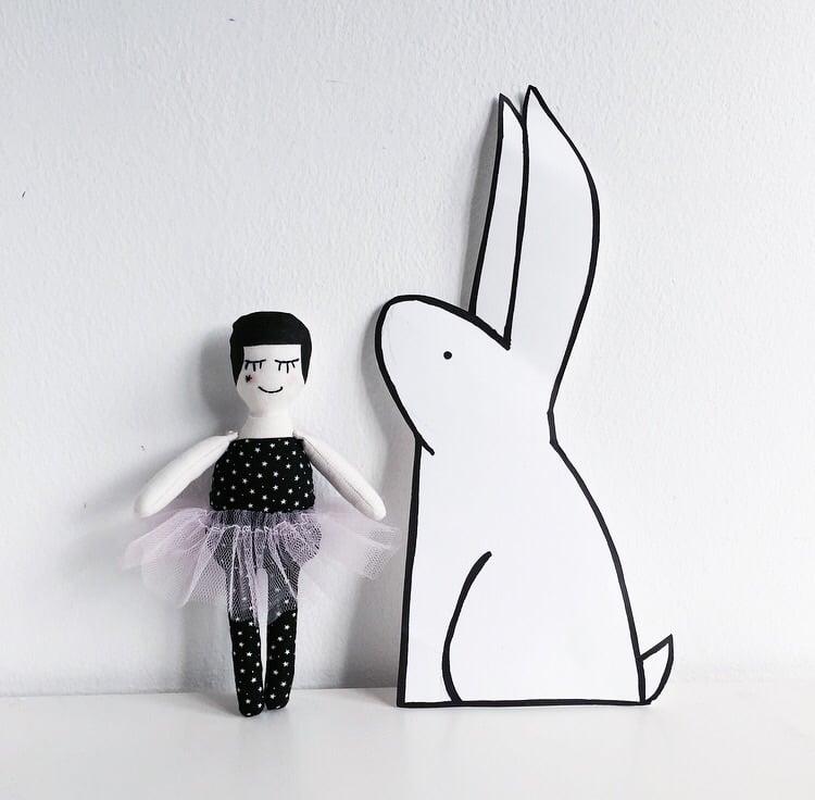 Image of Birdie doll by Studio Escargot