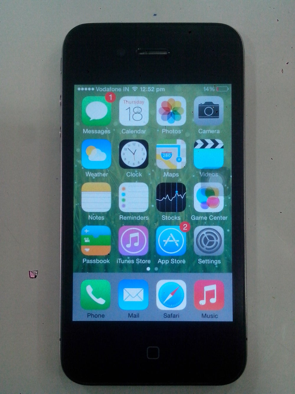 Image of iphone 4 16 GB Black