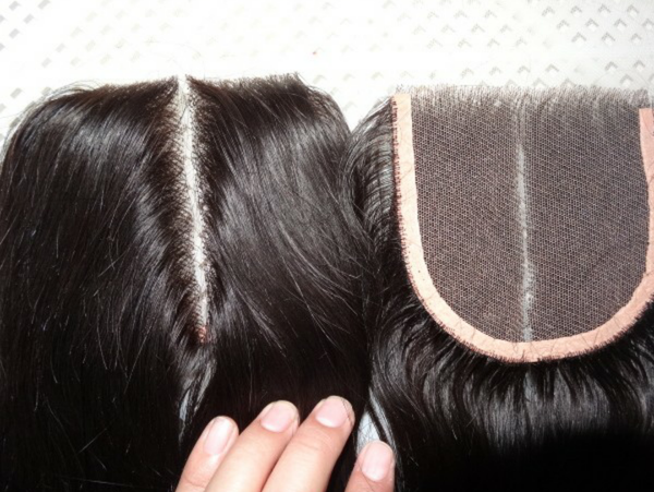 Image of 4x4 lace Closure