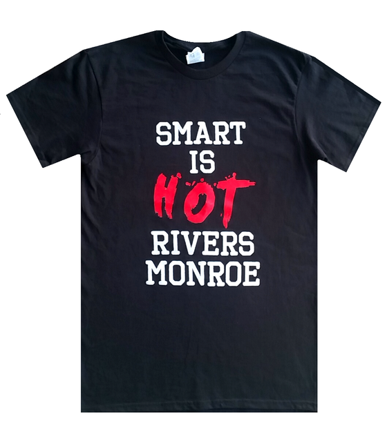 "Image of Rivers Monroe - ""Smart Is Hot"" T-Shirt"