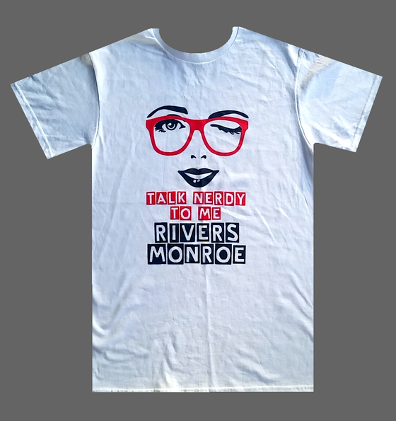 "Image of Rivers Monroe - ""Talk Nerdy To Me"" T-Shirt"