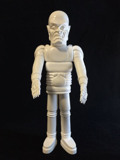 Image of The Iron Monster Blank White