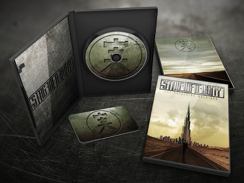 Image of The Breathing Machines deluxe CD