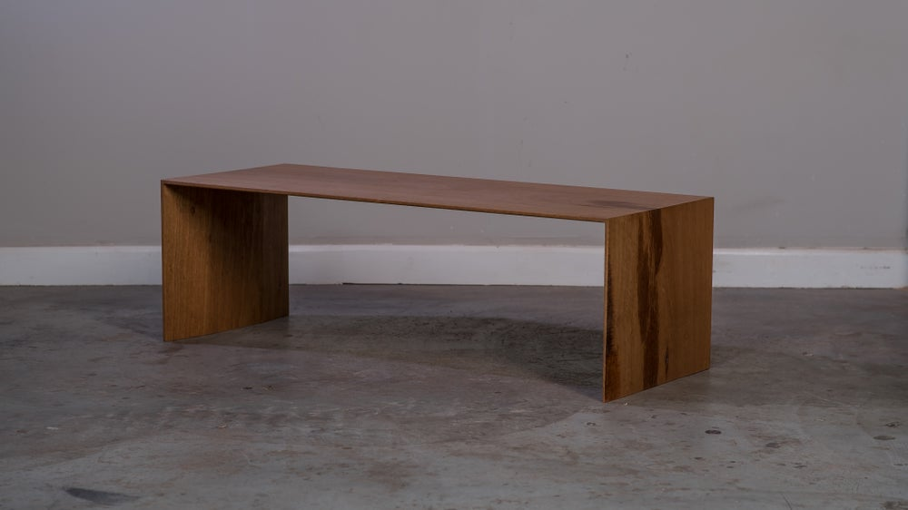 Image of Blackbutt slab coffee table