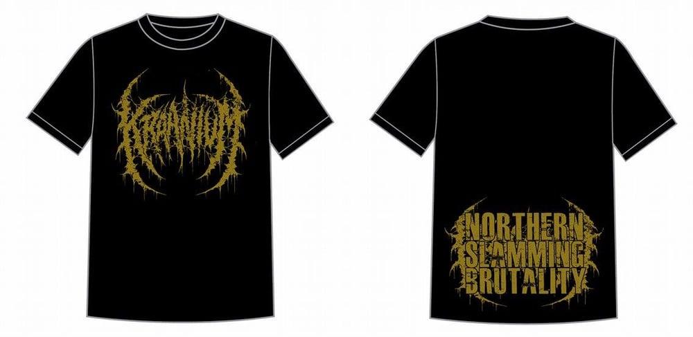 KRAANIUM - Logo / Northern Slamming Brutality T-Shirt