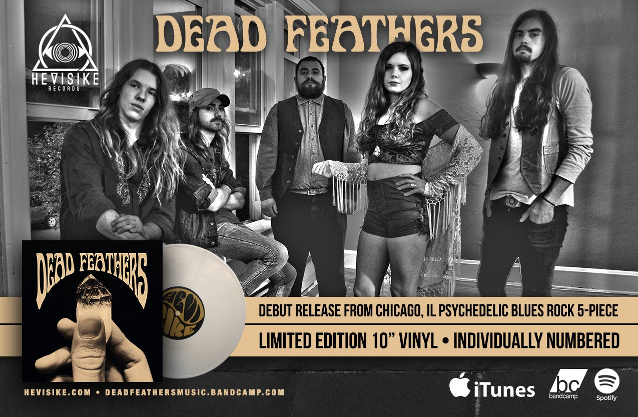 """Image of Dead Feathers - EP [10""""]"""