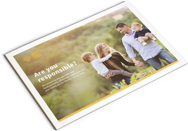Image of Lifetime Financial Responsibility Brochure Design