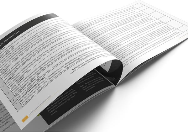 Image of Lifetime Financial Responsibility Brochure Print