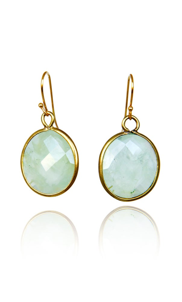 Image of Pair of stonependant earrings Prenithe