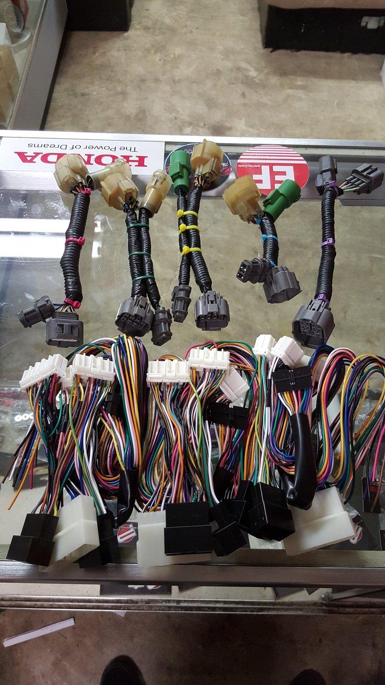 Image of Aftermarket obd0 to obd1 Distributor Jumper Harness