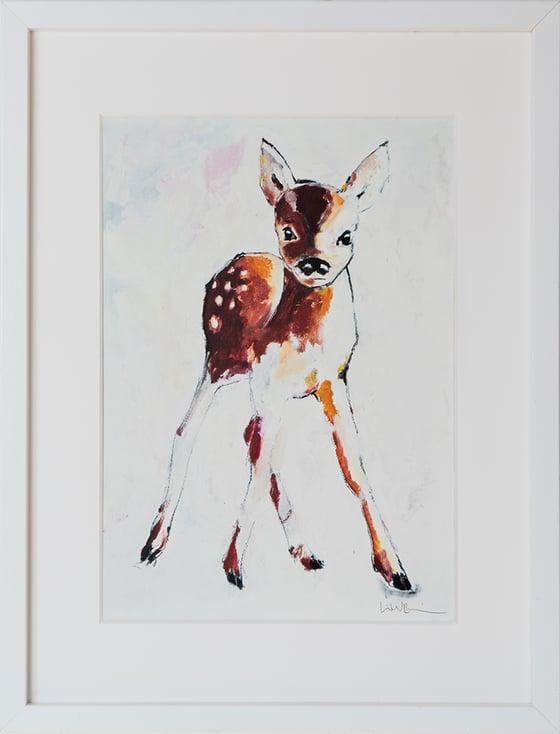 Image of A5/A4 Print # Deer - 100KR/250KR