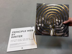 Image of WRITER - Principle Web LP (SPR020)