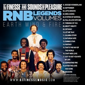Image of RNB LEGEND MIX (BEST OF EARTH WIND & FIRE) ***WEBSITE EXCLUSIVE***