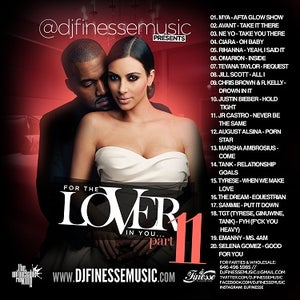 Image of FOR THE LOVER IN YOU MIX (SEX SONGS) VOL. 11