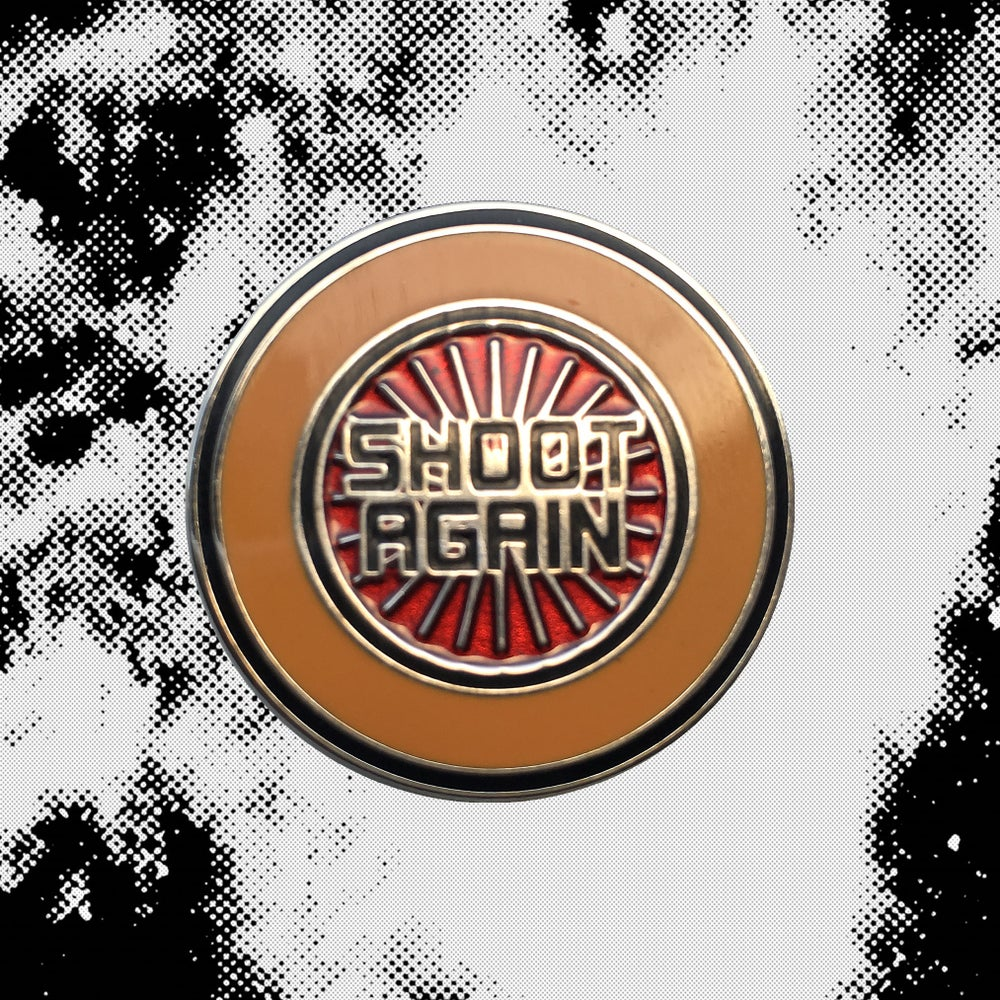 Image of Playfield Insert Series: Shoot Again Pin