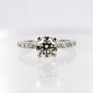 Image of Stunning Solitaire Diamond Ring