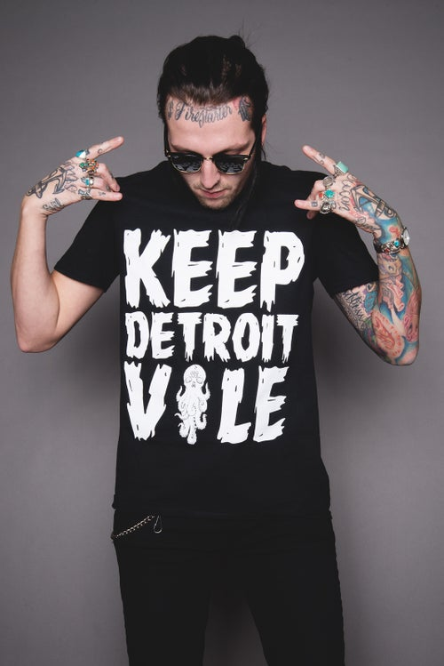 Image of Keep Detroit Vile Tee