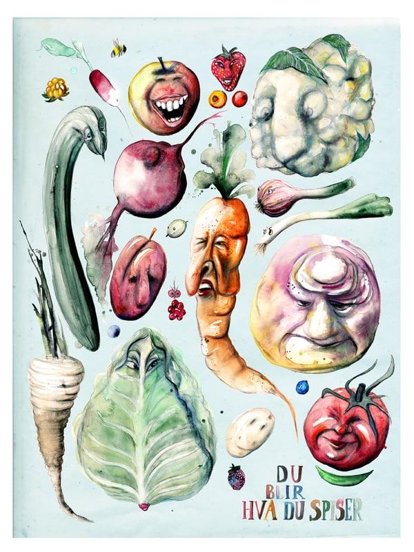 Image of Du blir hva du spiser